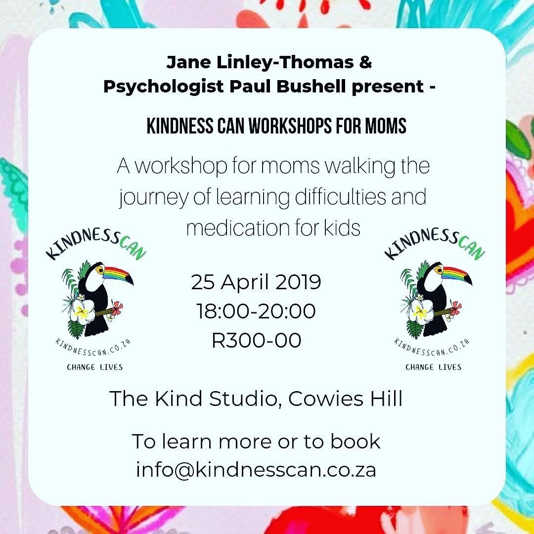 KindnessCan Workshops For Moms
